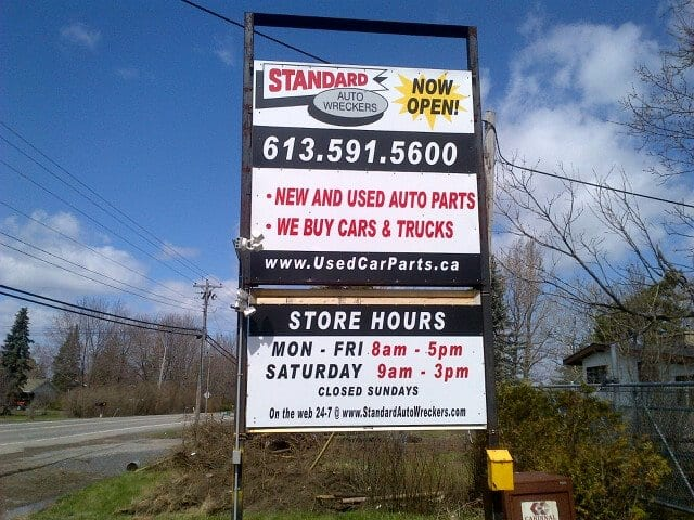 About Us - Auto Junk Yard In Ottawa Ontario