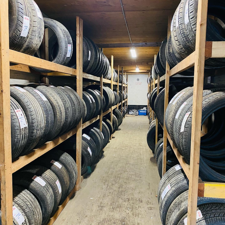 Tire Shop Stock